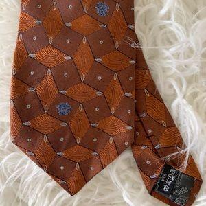 Gianni Versace Medusa tie